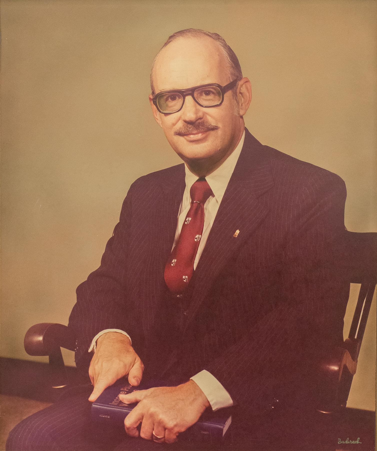 William (Bill) Kinnard. Interim Dean 1973-1974.