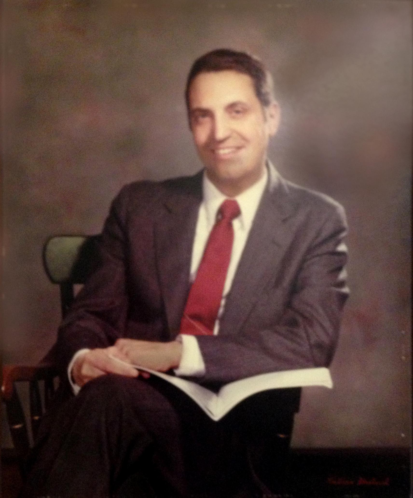 Ronald J. Patten. Dean 1974-1988.