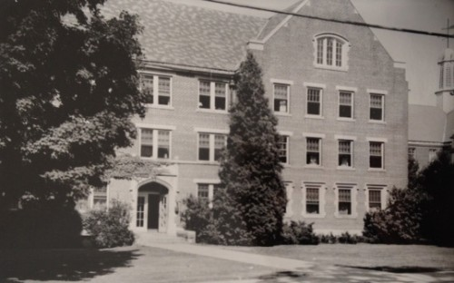 Holcomb Hall, First Home of the School of Business Administration