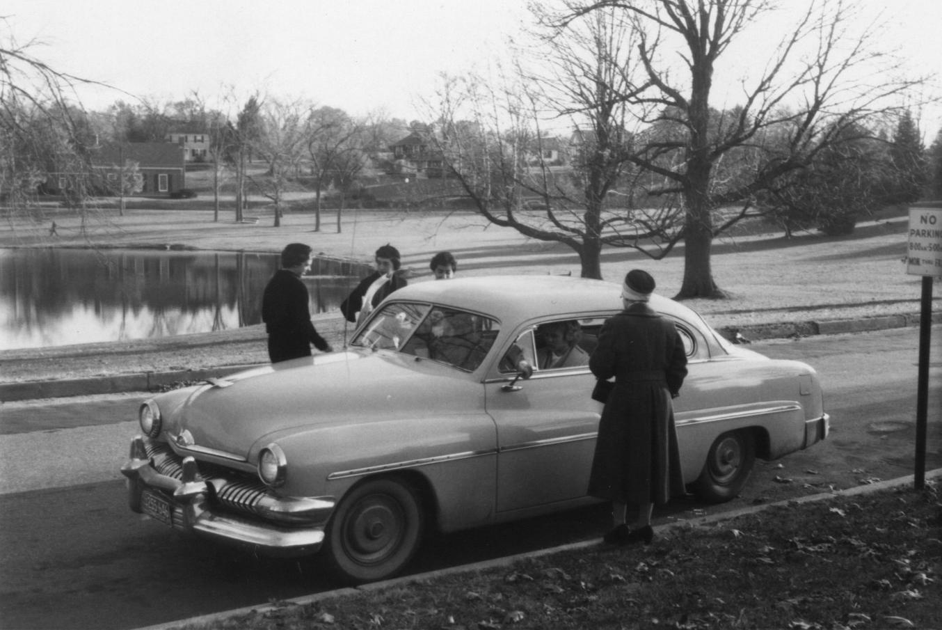 Secretarial studies students, 1959.