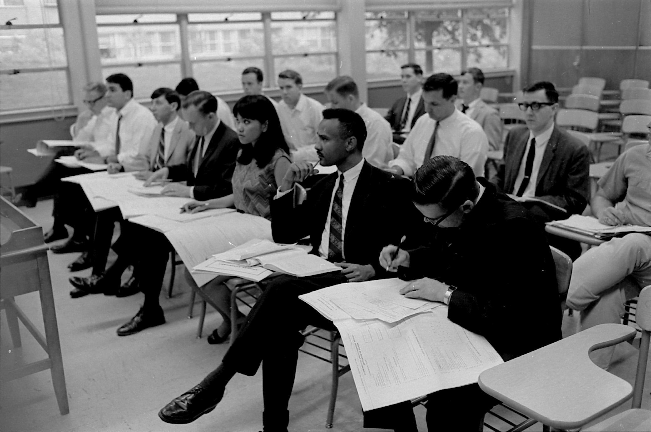Insurance School Class 1968