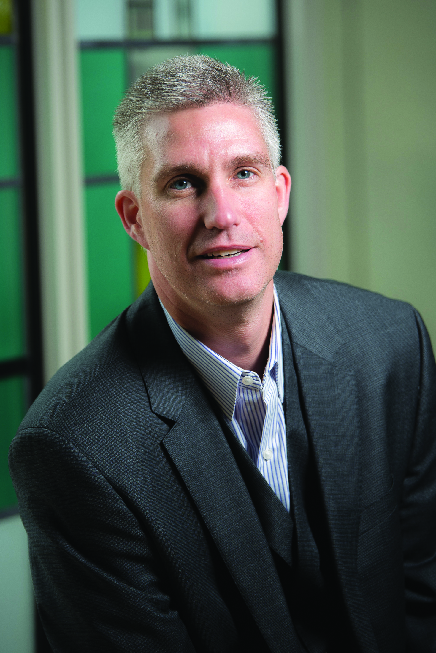 David Souder, associate professor of management and academic director for the Executive MBA Program